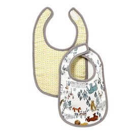Safari Muslin Bib (Set of 2)
