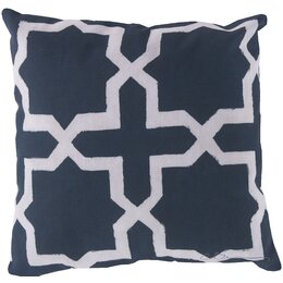 Madurai Navy Outdoor Pillow