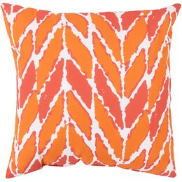 Arrow Outdoor Tangerine Pillow