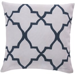 Minaret Navy Outdoor Pillow