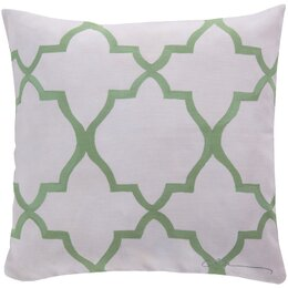 Minaret Celery Outdoor Pillow