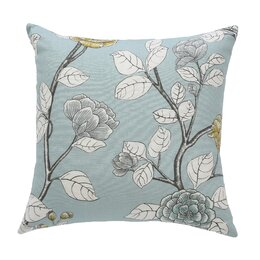 Leda Peony Aquatint Pillow