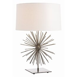 "Burst 29"" H Table Lamp with Drum Shade"