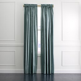 Regency Linen Curtain Panel in Patina