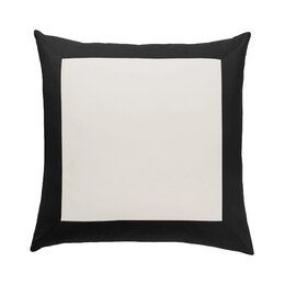 Modern Border Ink Euro Sham (Set of 2)