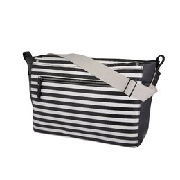 Mini Stripe Sullivan Diaper Messenger