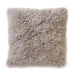 Sheepskin Longwool Curly Pillow