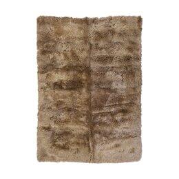 Sheepskin Longwool Taupe Rug