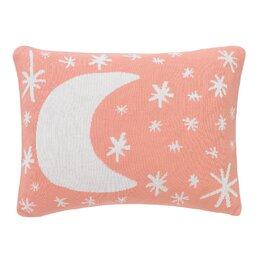 Galaxy Knitted Boudoir Pillow in Blossom
