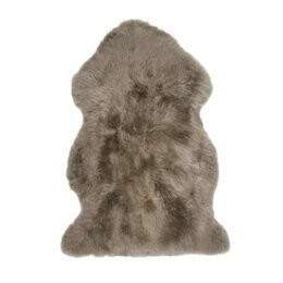 Sheepskin Taupe Area Rug