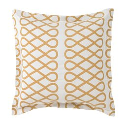 Arabesque Ochre Euro Sham (Set of 2)