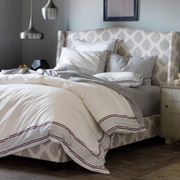 Blockprint Border Fig Duvet