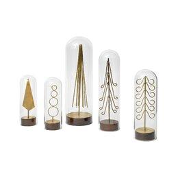 Modern Brass Forest Tree (Set of 6)