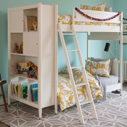 Mid-Century Library Bunk Bed