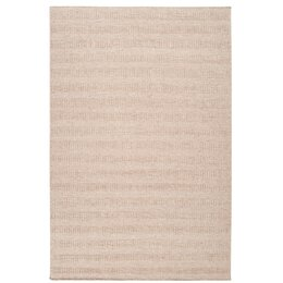 Textured Stripe Antique White Rug