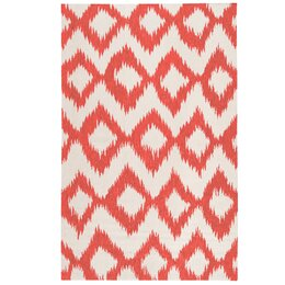 Diamond Ikat Poppy Rug