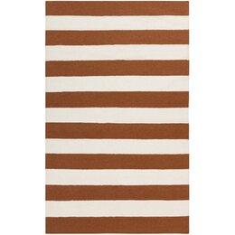 Draper Stripe Sepia Rug