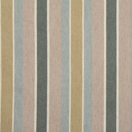 Shifted Stripe Fabric - Blush