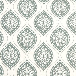 Ogee Fabric - Aquamarine