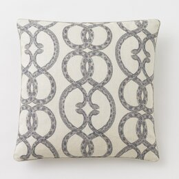 Snake Chain Dove Pillow Cover