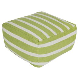 Stripped Pouf