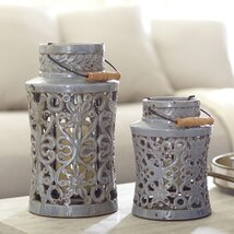Fretwork Decorative Jar