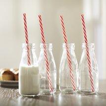 Vintage Dairy Bottle Set (Set of 4)
