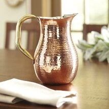 <strong>Copper Serving Hammered Pitcher</strong>