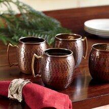 Russet Mule Mugs (Set of 4)