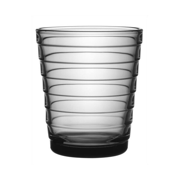 iittala Aino Aalto Short Tumbler in Grey by iittala (Set of 2)