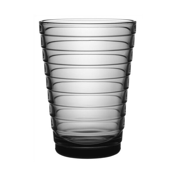 iittala Aino Aalto Tall Tumbler in Grey by iittala