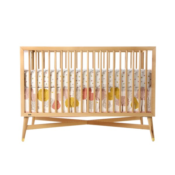 DwellStudio Swallow Fitted Crib Sheet