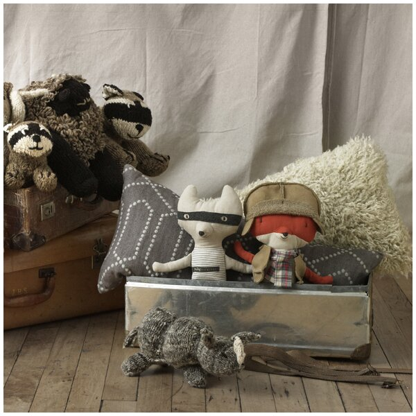 DwellStudio Large Raccoon Plush Toy