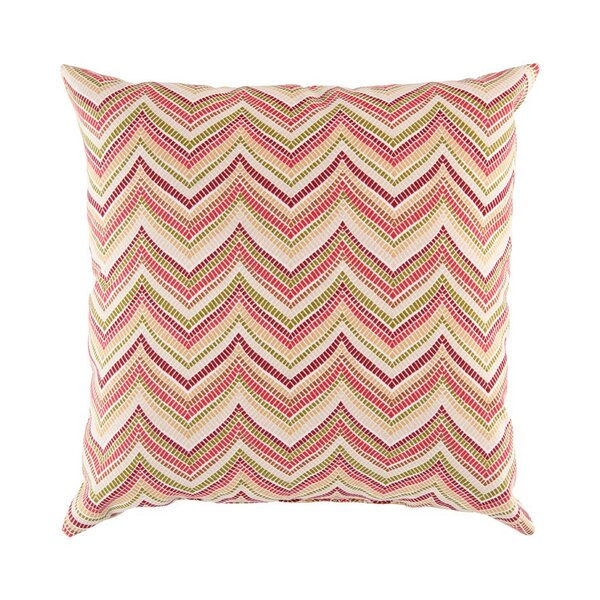 DwellStudio Zig Zag Red Outdoor Pillow Cover