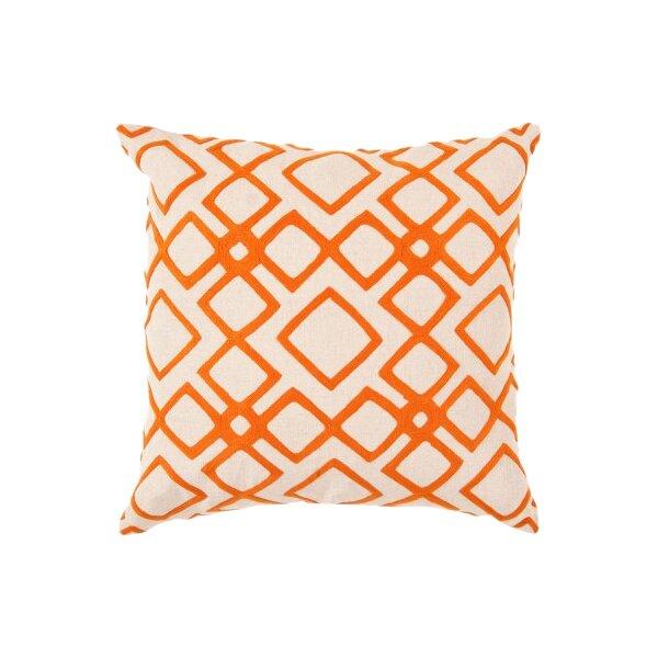 DwellStudio Kyoto Trellis Tangerine Pillow