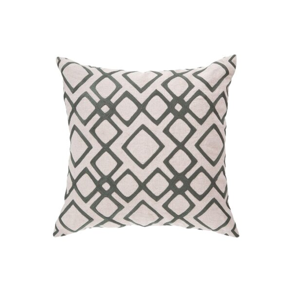 DwellStudio Kyoto Trellis Moss Pillow