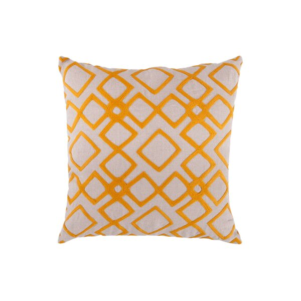 DwellStudio Kyoto Trellis Citrine Pillow