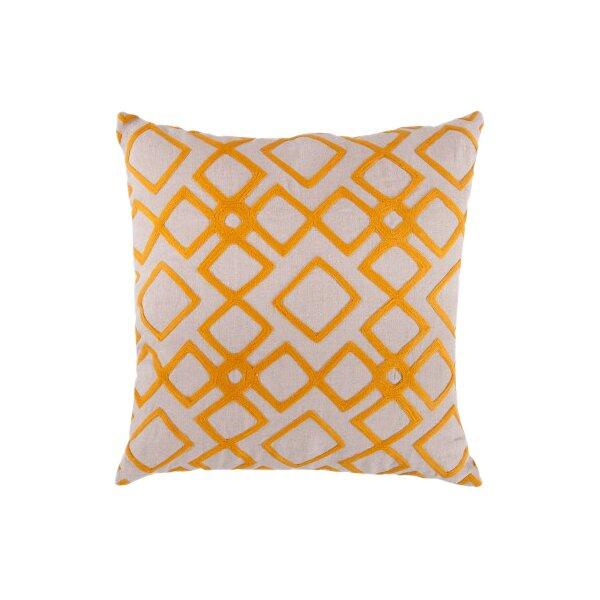 DwellStudio Kyoto Trellis Citrine Pillow