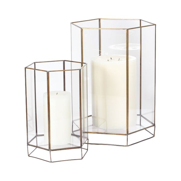 DwellStudio Glass Oriel Hurricane