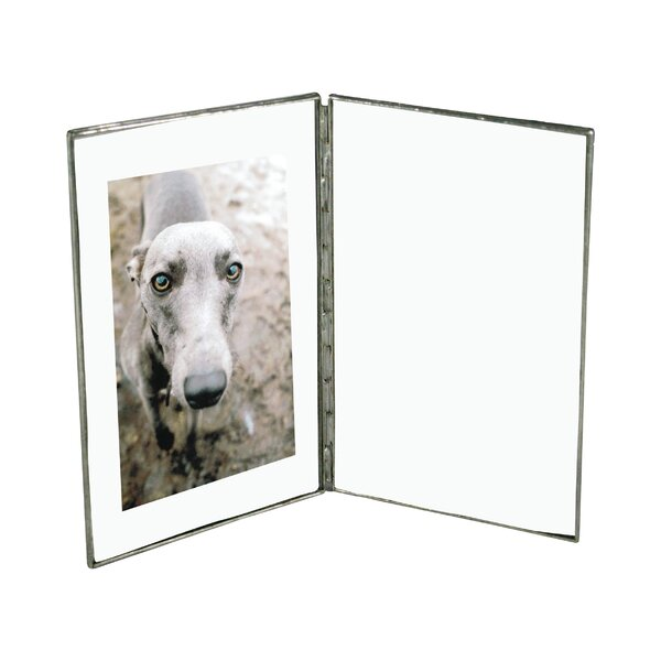 DwellStudio Vintage Glass Book Frame