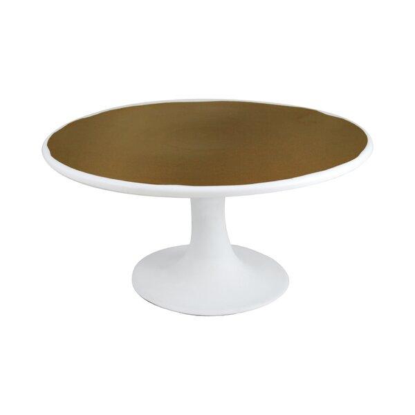 DwellStudio Marais Gold Glazed Cake Stand
