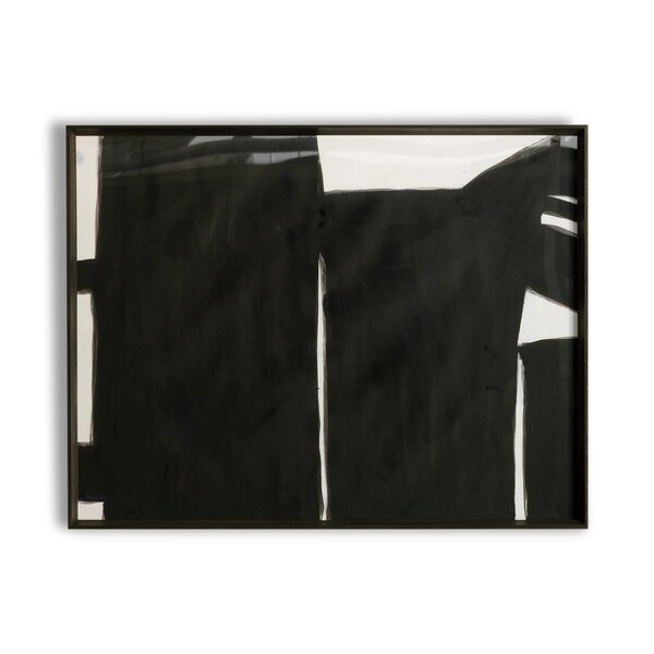 DwellStudio Black Road Artwork I