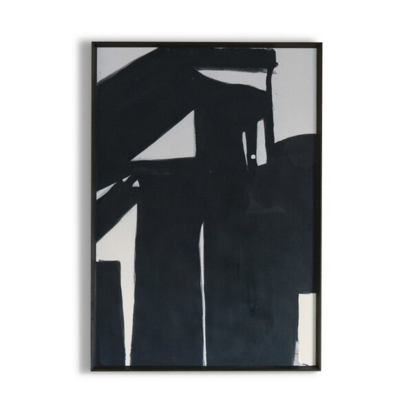 DwellStudio Black Road Artwork II