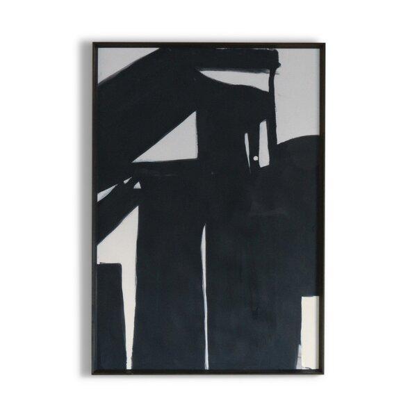 DwellStudio Black Road Artwork II