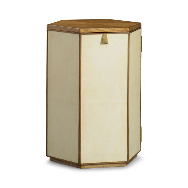 DwellStudio Barnett Parchment Side Table