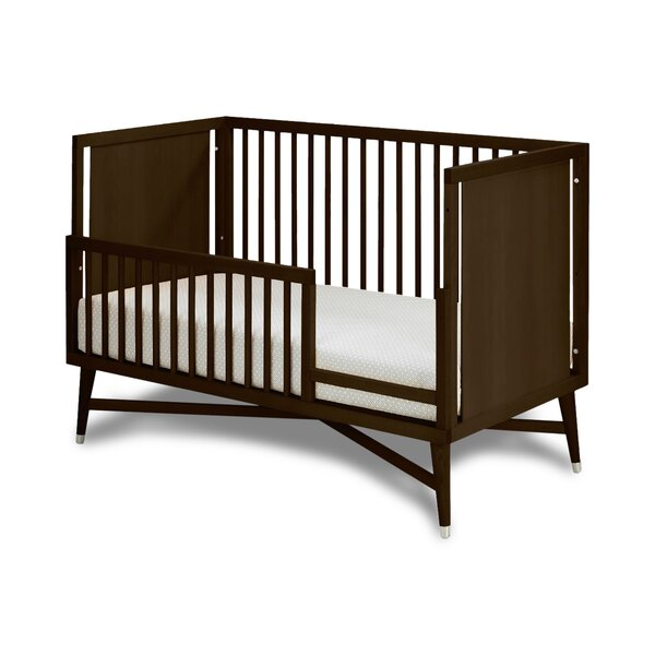 DwellStudio Mid-Century Espresso Toddler Rail