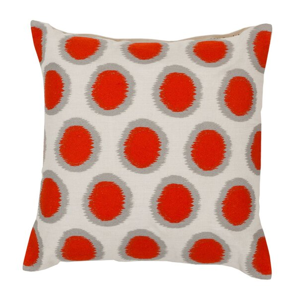 DwellStudio Fiore Persimmon Pillow