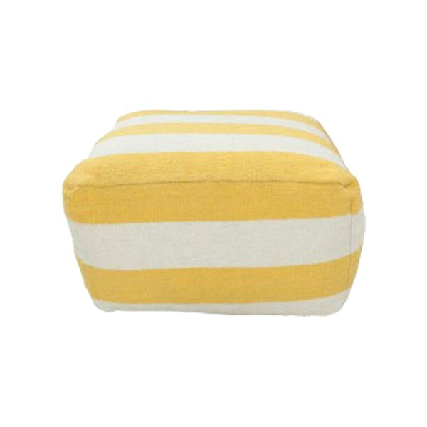 DwellStudio Stripped Pouf