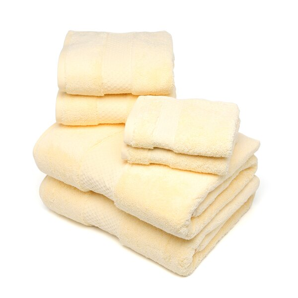 DwellStudio Luxe Lemon 6 Piece Towel Set
