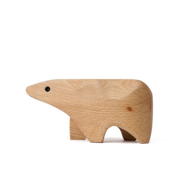 DwellStudio Carved Polar Bear Box